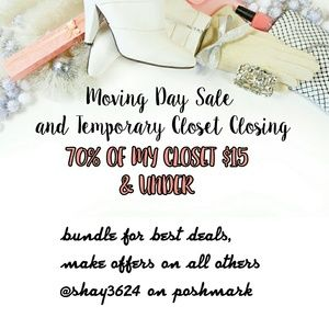 Moving Day Sale-Most Items $15 & Under!❤4 UPDATES
